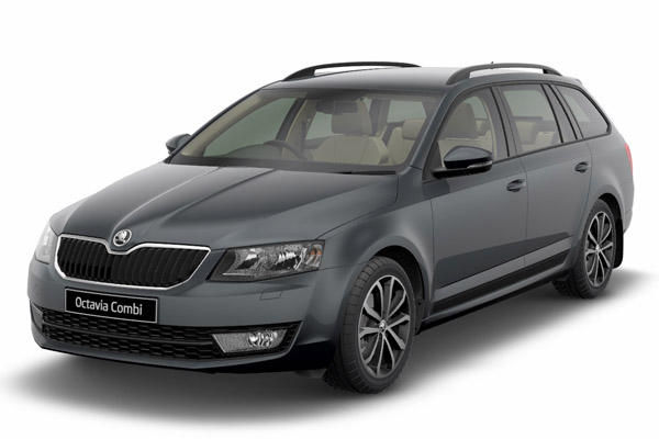 skoda octavia steel grey