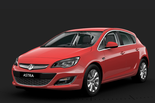 Vauxhall Astra Power Red
