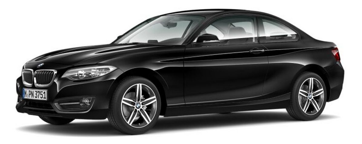 Bmw 2 series colours guide and prices carwow - Black bmw 1 series coupe ...