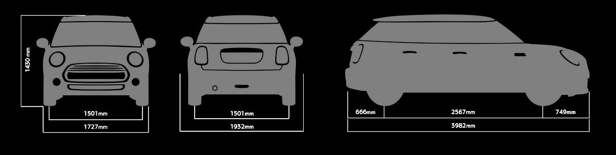 Mini 5 Door Sizes And Dimensions Guide Carwow
