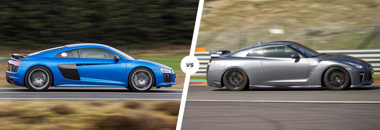 Exceptionnel Audi R8 vs Nissan GT-R supercar comparison | carwow KT37