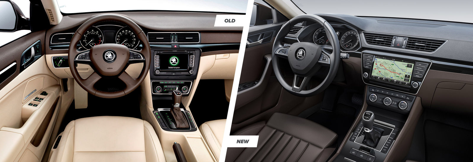 2015 Skoda Superb Old And New Compared Carwow