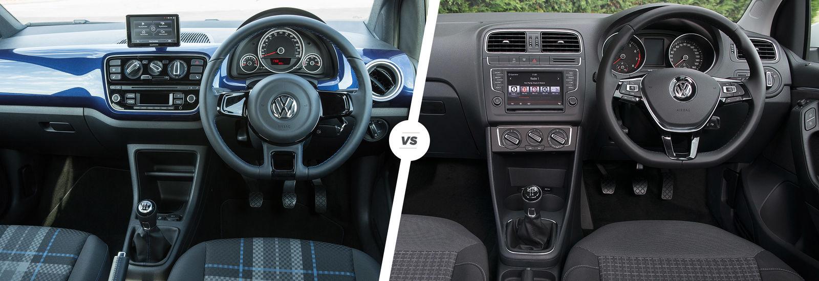 Volkswagen Up vs Polo – city car vs supermini | carwow