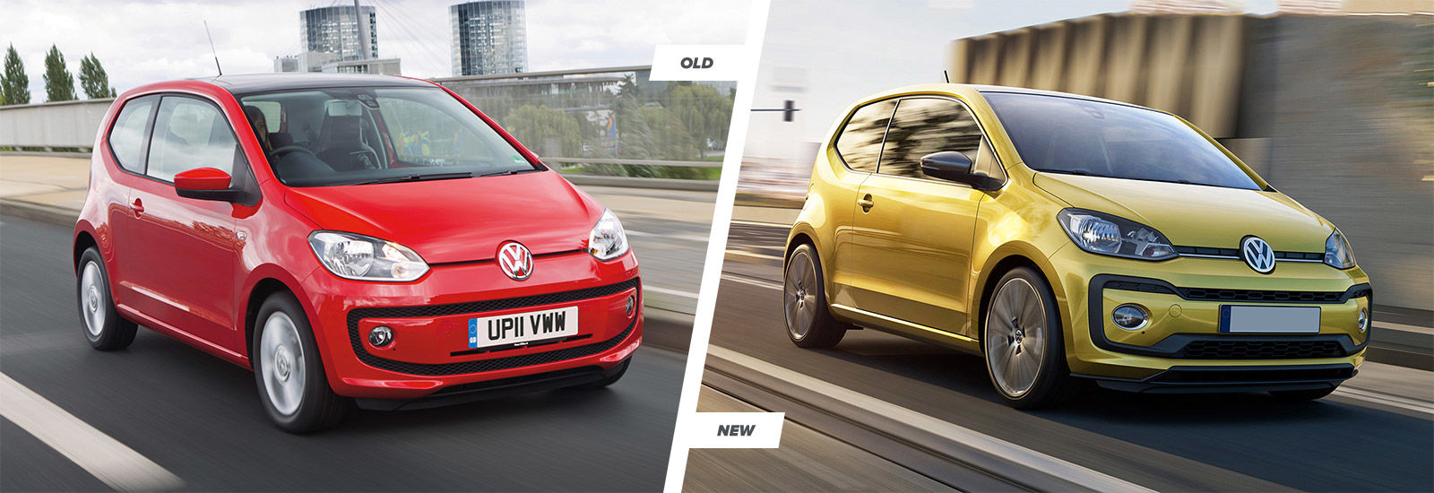 Volkswagen Up facelift: old vs new compared | carwow
