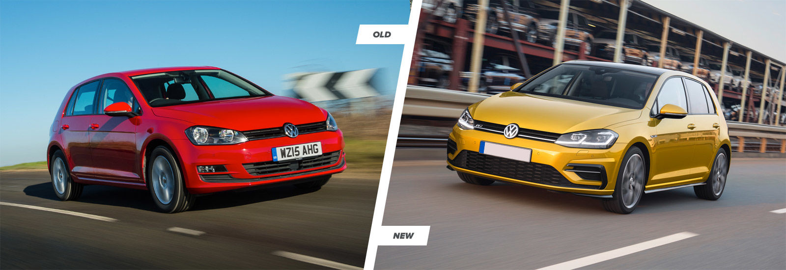2017 vw golf mk7 facelift old vs new engines and driving