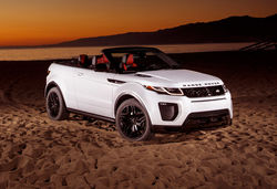 Evoque convertible feature