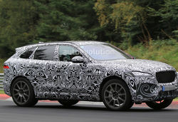 Jaguar f pace ftq r real lead