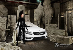 Mercedes fashion film
