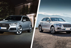 Audi q7 vs bentley bentayga