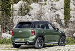 Content mini countryman rtq green