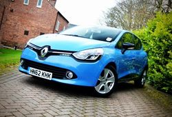Content renault clio tce front