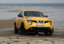 Nissan juke facelift yellow ftq
