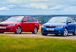 Skoda octavia se sport technology lead 0