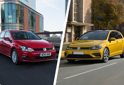 Vw golf old vs new lead