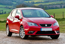 Seat ibiza red front a